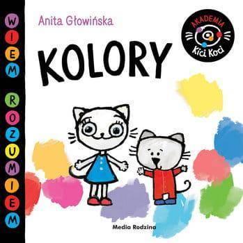 Kicia Kocia akademia kolory