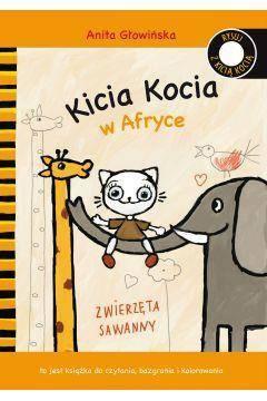 Kicia Kocia w Afryce kolorowanka