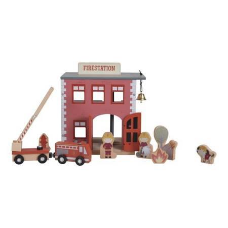 drewniana remiza strażacka Little Dutch